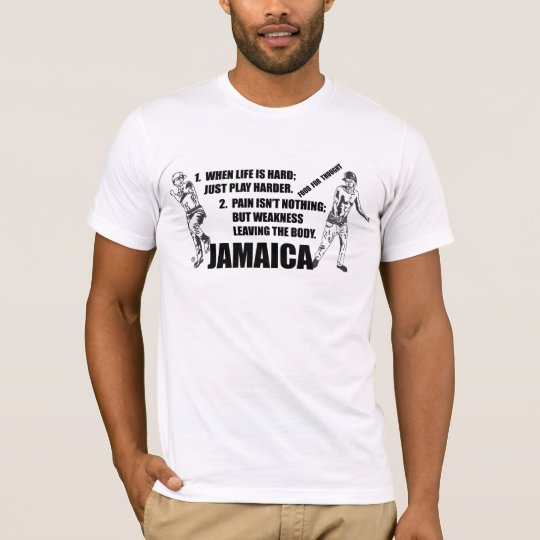 Jamaican - Play Harder T-Shirt