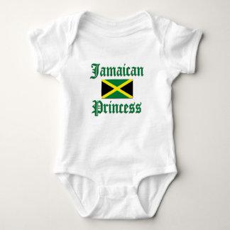 Jamaican Princess Baby Bodysuit