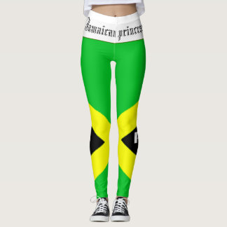 JAMAICAN PRINCESS FLAG LEGGINGS BY. HAVIC ACD