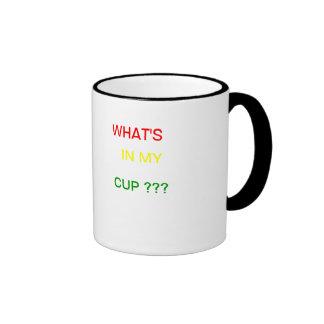 Jamaican rasta desing ringer mug
