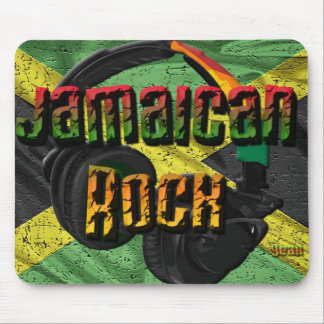 Jamaican Rock2 Mouse Pad