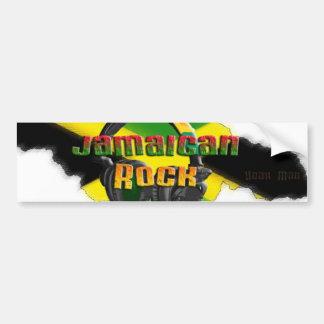 Jamaican Rock Bumper Sticker
