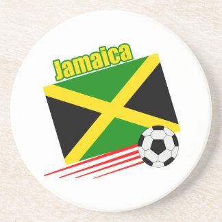 Jamaican Soccer Team Coasters