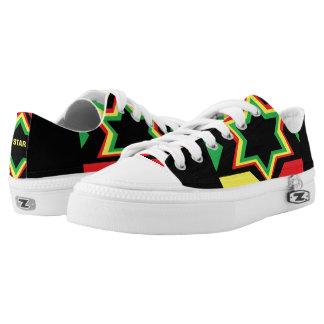 JAMAICAN STAR LOW TOPS