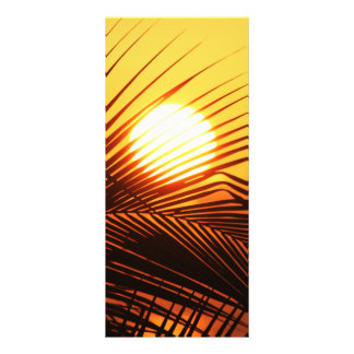 JAMAICAN SUNSET TROPICAL PHOTOGRAPHY NATURE WALLPA PERSONALISED RACK CARD