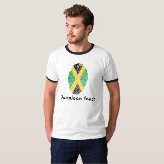 Jamaican touch fingerprint flag T-Shirt