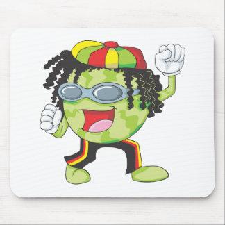 Jamaican Watermelon Dancing Mousepads
