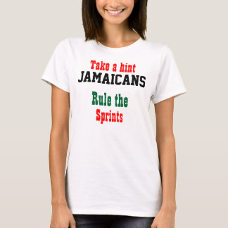 Jamaicans rule the sprints Olympic  T-shirts