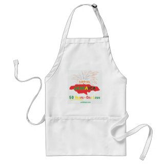 Jamaica's 50th Anniversary by Roxanne/Swellhead Standard Apron