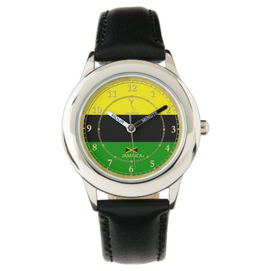 Jamaica's Colours Flag Designer Watch