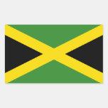 Jamaica's Flag Stickers
