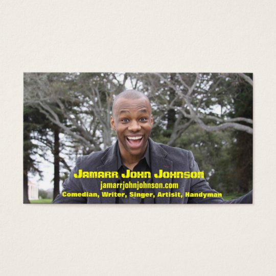 Jamarr John Johnson Business Card