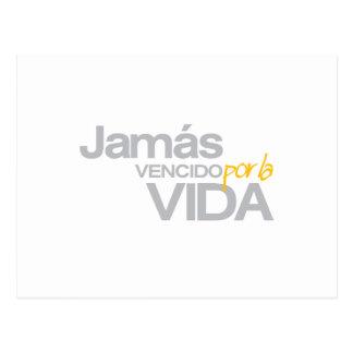 JAMAS VENCIDO POR LA VIDA (p1005) Postcard