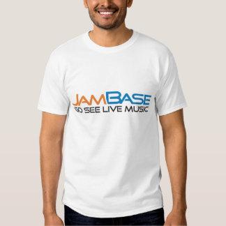 JamBase 'Go See Live Music' logo shirt