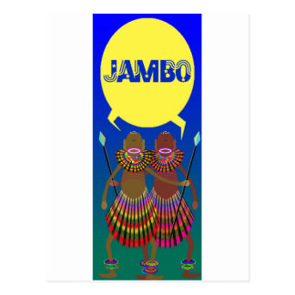 jambo 01 postcard