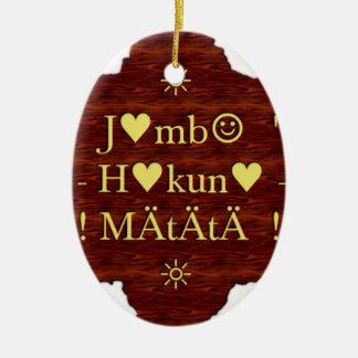 jambo Hakuna Matata day Gifts.png Christmas Ornament
