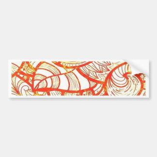 Jambo, orange bumper stickers
