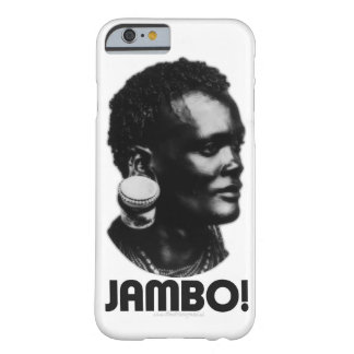 JAMBO! Swahili Greeting Barely There iPhone 6 Case