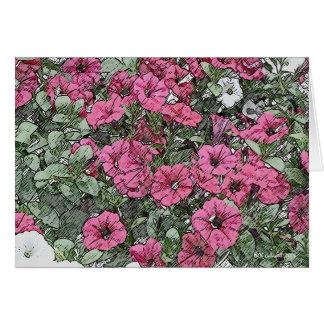 Jamboree Petunias Card