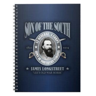 Jame Longstreet (SOTS2) Spiral Notebooks