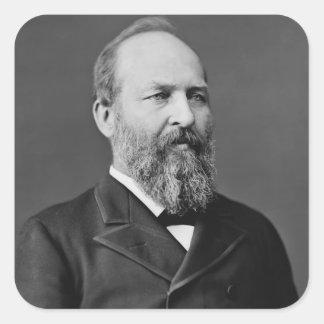 James A. Garfield Square Sticker