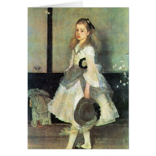 James Abbot McNeill Whistler - Portrait of Miss Al Card