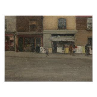 James Abbott McNeill Whistler - Chelsea Shops Photo Print
