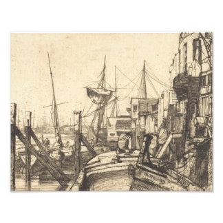 James Abbott McNeill Whistler - Limehouse Photograph