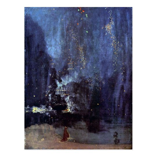 James Abbott McNeill Whistler - Night in Black