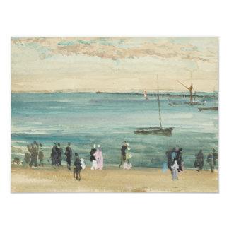 James Abbott McNeill Whistler - Southend Pier Photograph