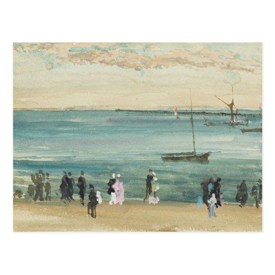 James Abbott McNeill Whistler - Southend Pier Postcard