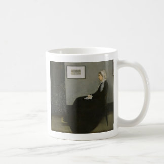 James Abbott Whistler - Whistler's Mother Coffee Mug