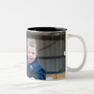 James and Tristan Two-Tone Coffee Mug