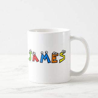 James Basic White Mug