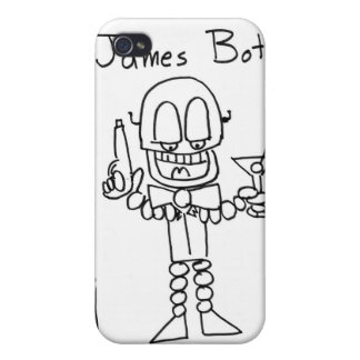 James Bot Cell Phone Case iPhone 4/4S Case