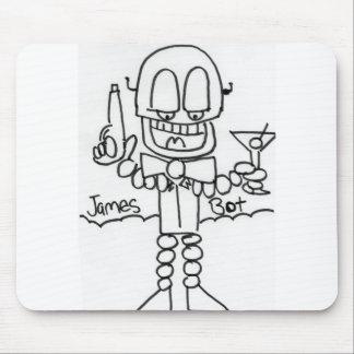 James   Bot Mouse Pad