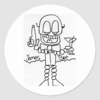 James   Bot Stickers
