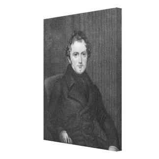 James Bronterre O'Brien Stretched Canvas Prints