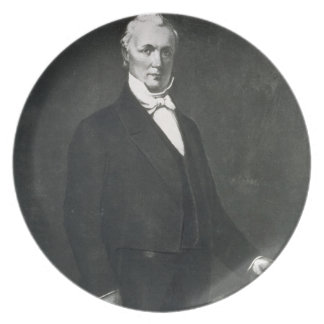 James Buchanan, 15th President of the United State Party Plate