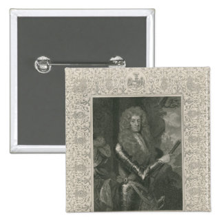 James Butler, 12th Earl and 1st Duke of 15 Cm Square Badge