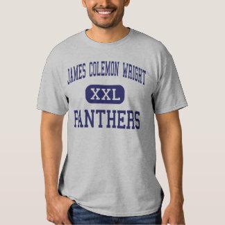 James Colemon Wright Panthers Middle Madison Tee Shirts