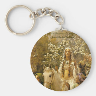 James Collier, 'Queen Guenver's A-maying' Basic Round Button Key Ring