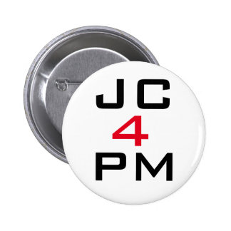 """James Corbyn """"JC For PM"""" Button Badge"""