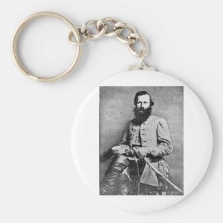 James Ewell Brown Stuart circa 1833-1864 Basic Round Button Key Ring