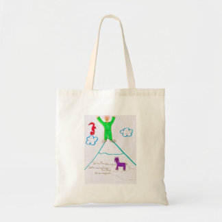 'James Franco Mountain' Tote Budget Tote Bag