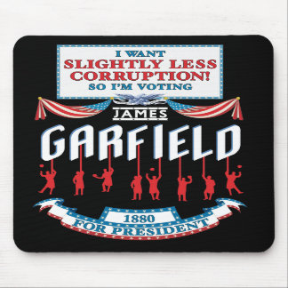 James Garfield 1880 Campaign Mousepad