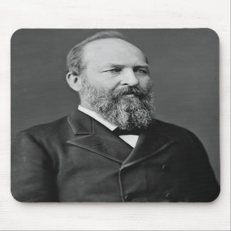 James Garfield 20th President Mousepad
