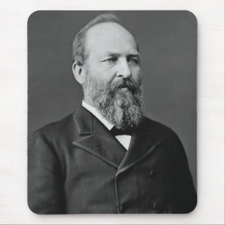 James Garfield 20th President Mousepad
