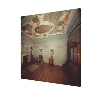 James Gibbs Drawing room from Henrietta Place Canvas Print