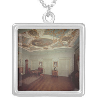 James Gibbs Drawing room from Henrietta Place Silver Plated Necklace